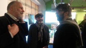 Emanuele Perugini (30scicom) e Riccardo Valentini (Centro Euromediterraneo Cambiamenti Climatici)