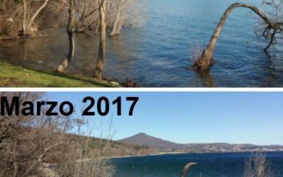 Il lago prosciugato