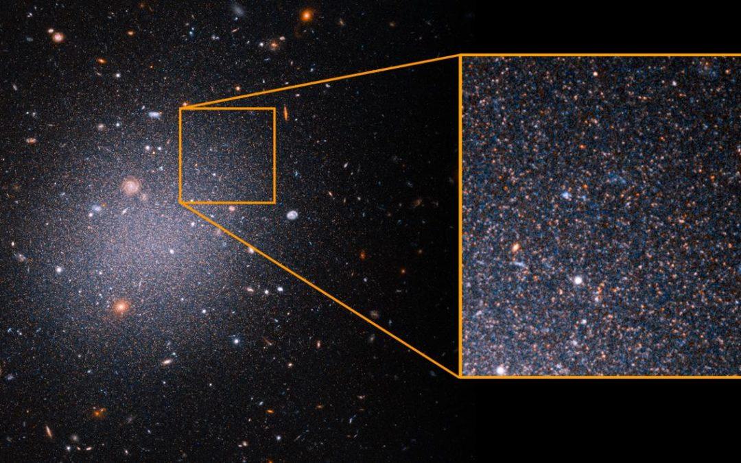 Hubble conferma, in alcune galassie non c'è materia oscura