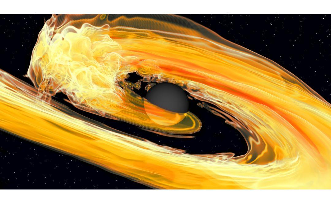 Le onde gravitazionali raccontano la fusione di un buco nero e una stella di neutroni