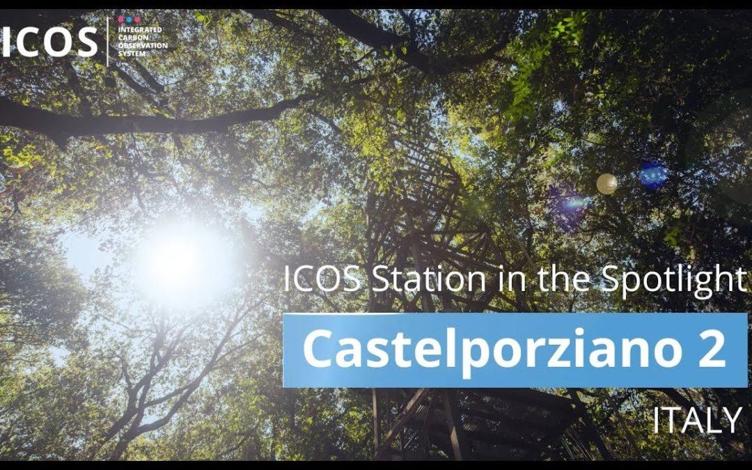 La stazione CREA di Castelporziano nella rete ICON