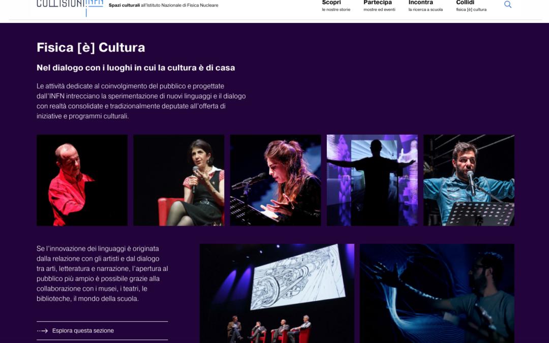 INFN apre 'Collisioni', nuovo sito per la divulgazione