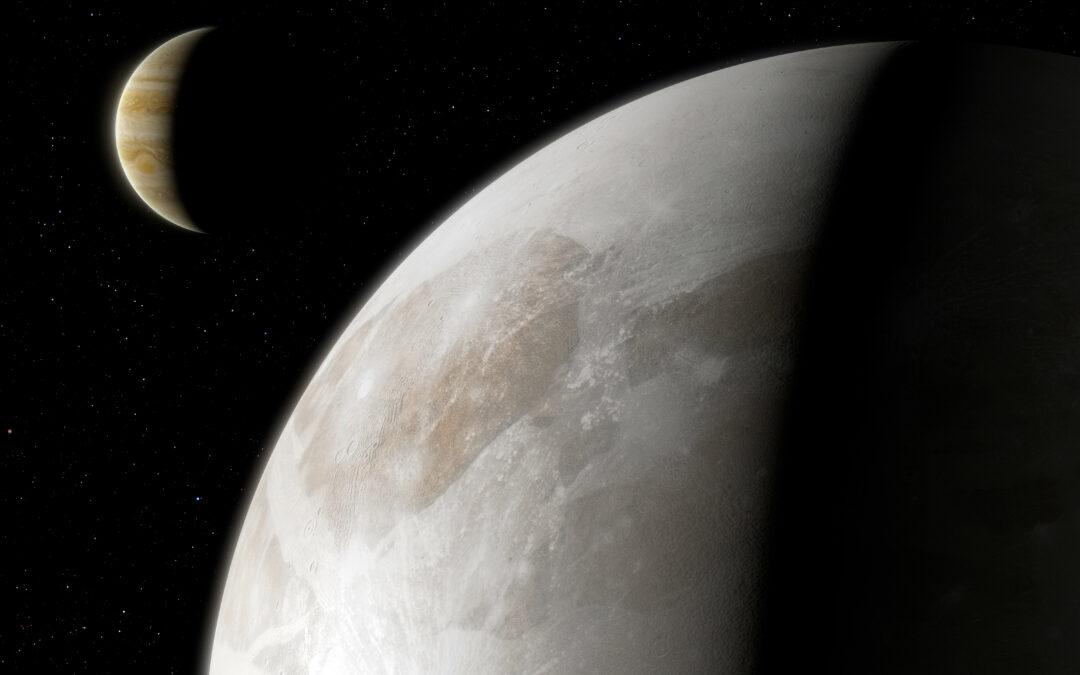 Ganimede: prime evidenze di vapore acqueo